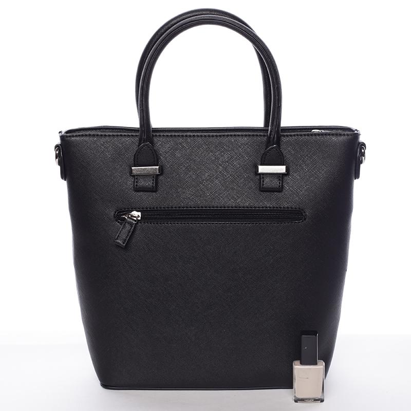 Elegantní kabelka David Jones Philipa, černá