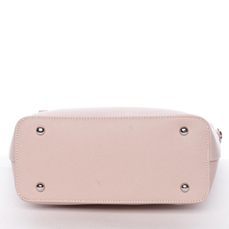 Elegantní kabelka David Jones Philipa, růžová