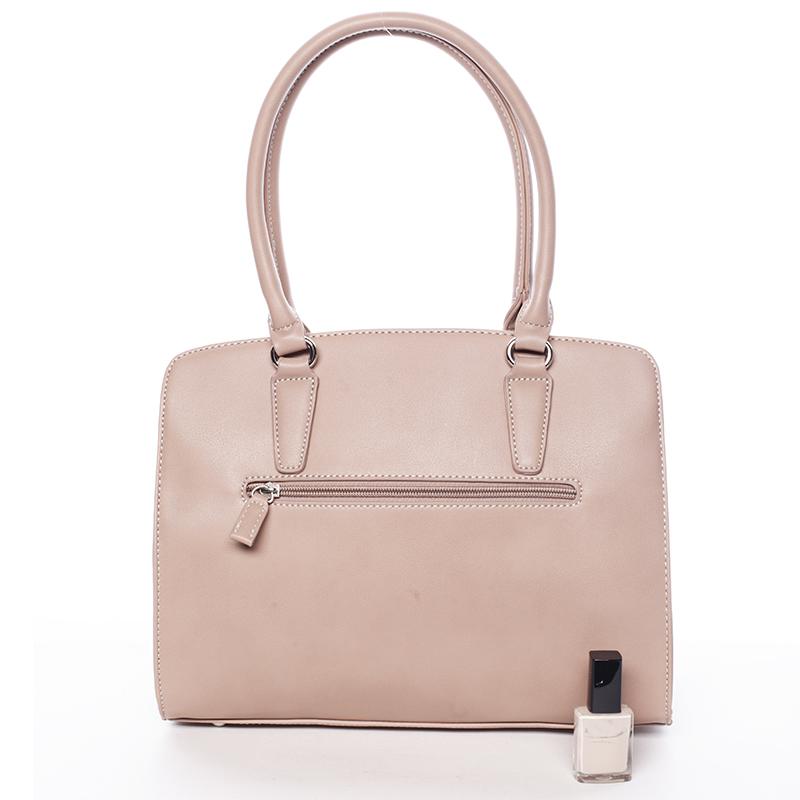 Luxusní dámská kabelka David Jones Paulina, růžová