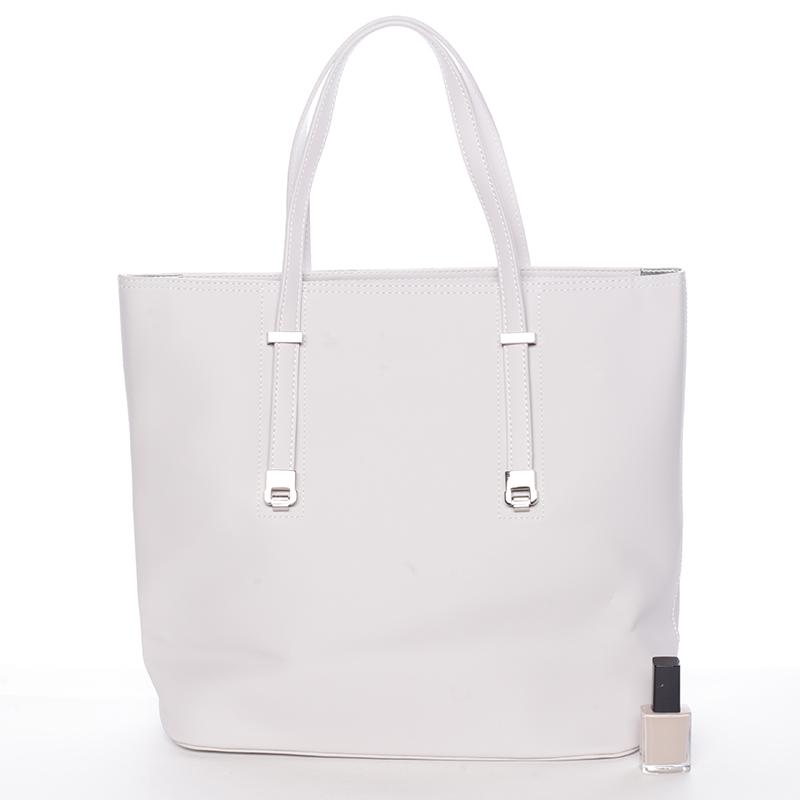 Luxusní dámská kabelka David Jones Sunshine, šedá