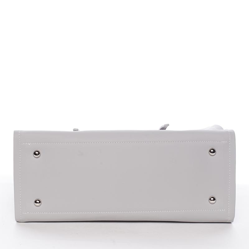 Elegantní kabelka přes rameno David Jones Camila, šedá