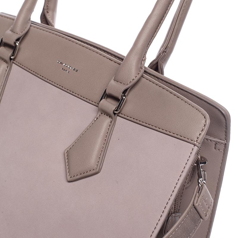 Elegantní dámská kabelka David Jones Nika, růžová