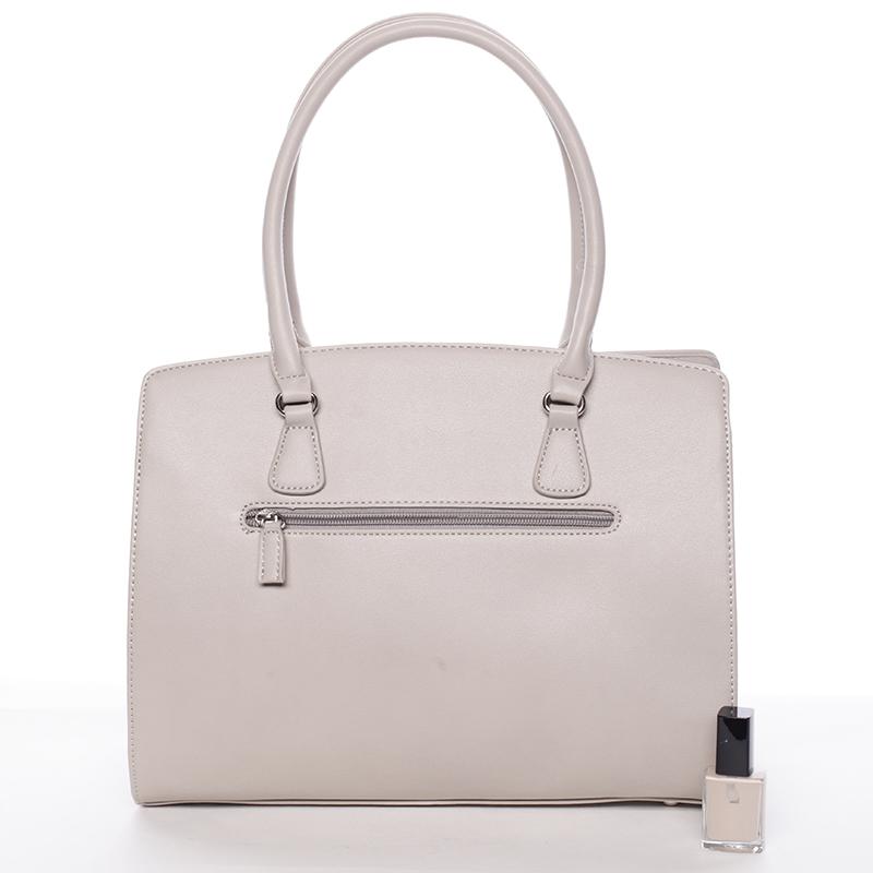 Elegantní kabelka David Jones Nika, šedá