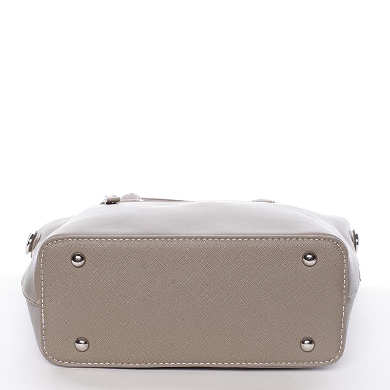Luxusní kabelka David Jones Mariana, šedá