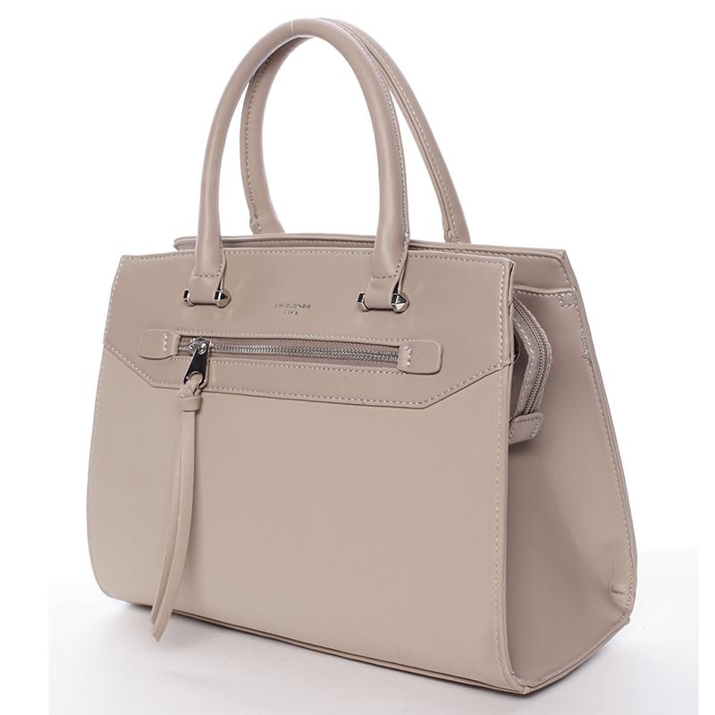 Trendová dámská kabelka Juliette, béžová