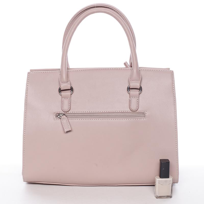 Trendová dámská kabelka Juliette, růžová