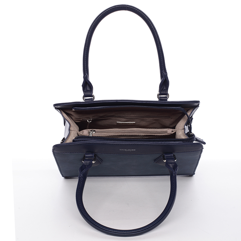 Dámská elegantní kabelka David Jones LARA, tmavě modrá