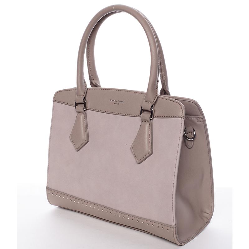 Dámská elegantní kabelka David Jones LARA, růžová