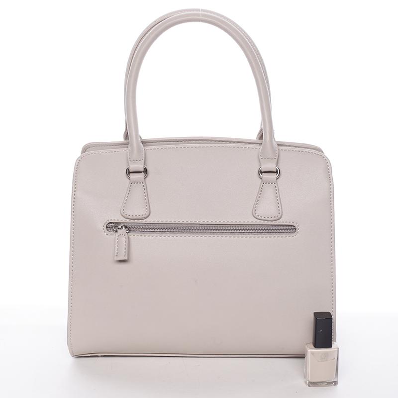Dámská elegantní kabelka David Jones LARA, šedá