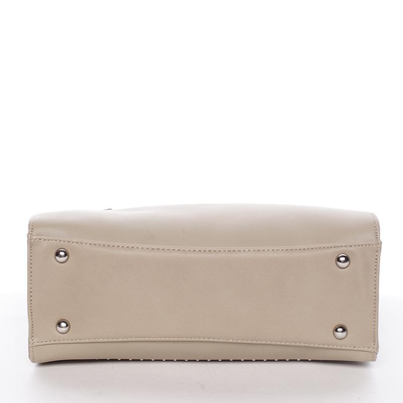 Dámská elegantní kabelka David Jones LARA, béžová