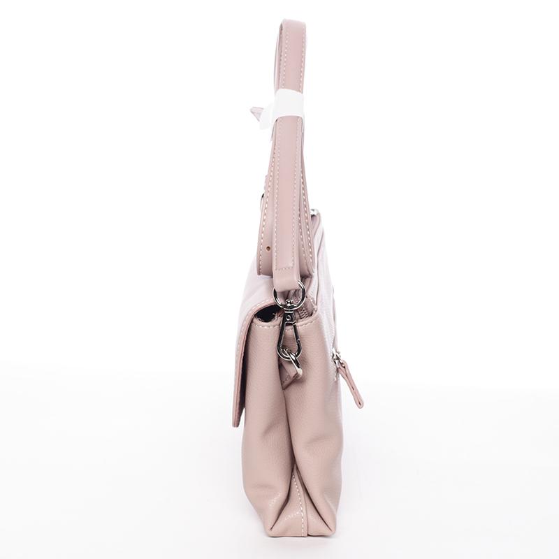 Dámské elegantní crossbody David Jones Sammy, růžové