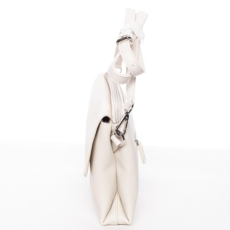 Dámské elegantní crossbody David Jones Sammy, béžové