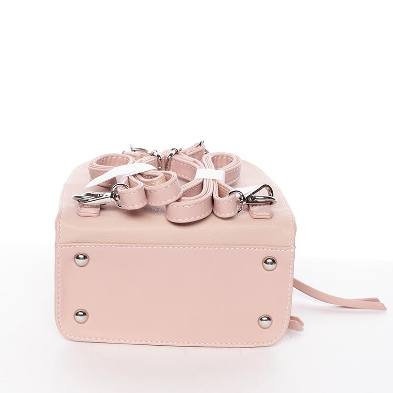 Dámský malý batůžek David Jones Tammy, růžový