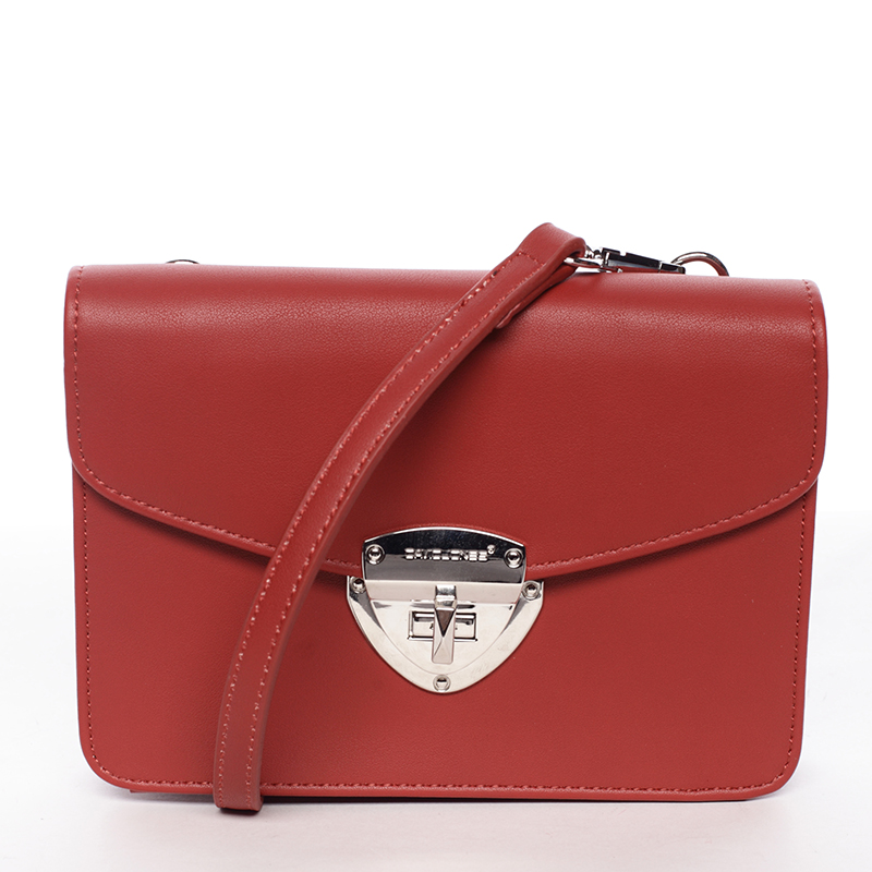 Dámské crossbody a peněženka David Jones Kelli, červené