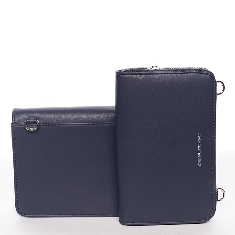 Dámské crossbody a peněženka David Jones Kelli, tmavě modré