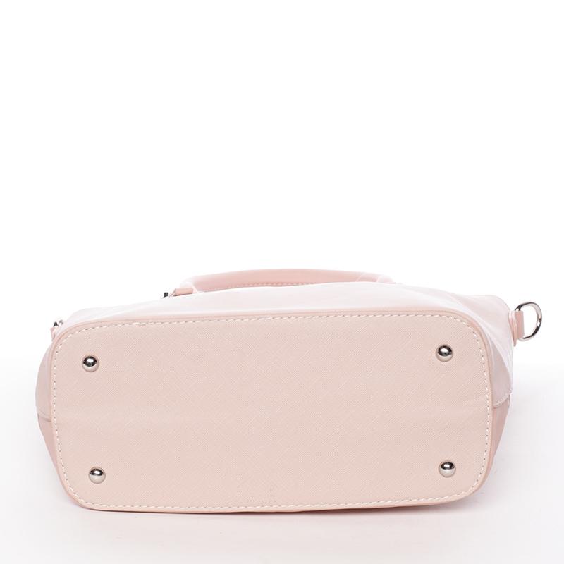 Dámská luxusní kabelka David Jones Celie, růžová