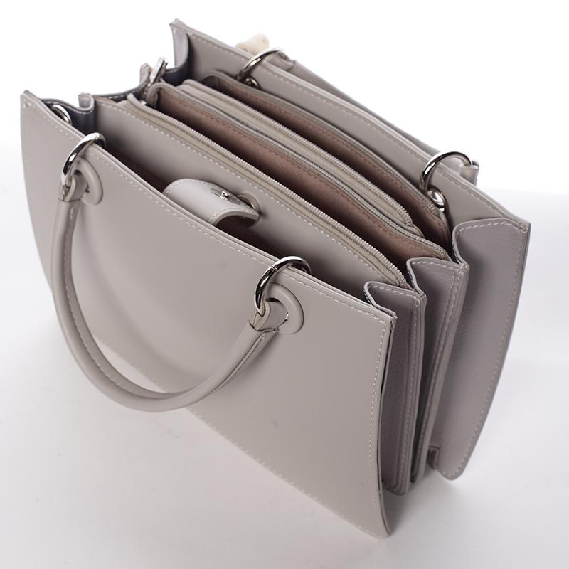 Dámská exkluzivní kabelka David Jones Carlota, šedá