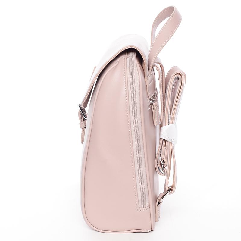 Dámský módní batůžek David Jones Lena, růžový