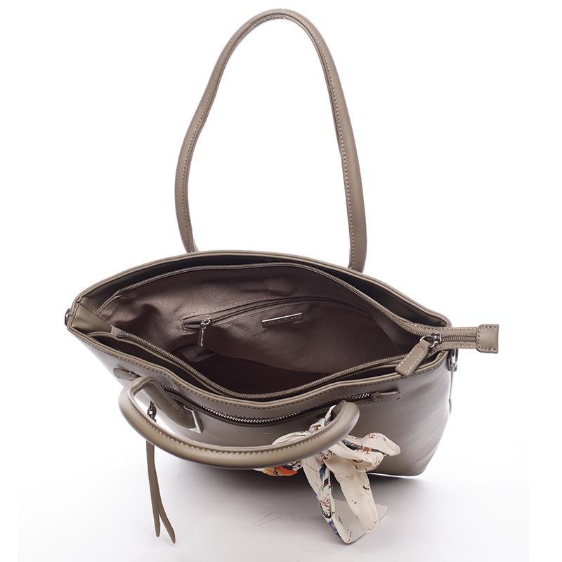 Dámská luxusní kabelka David Jones Engelika, khaki