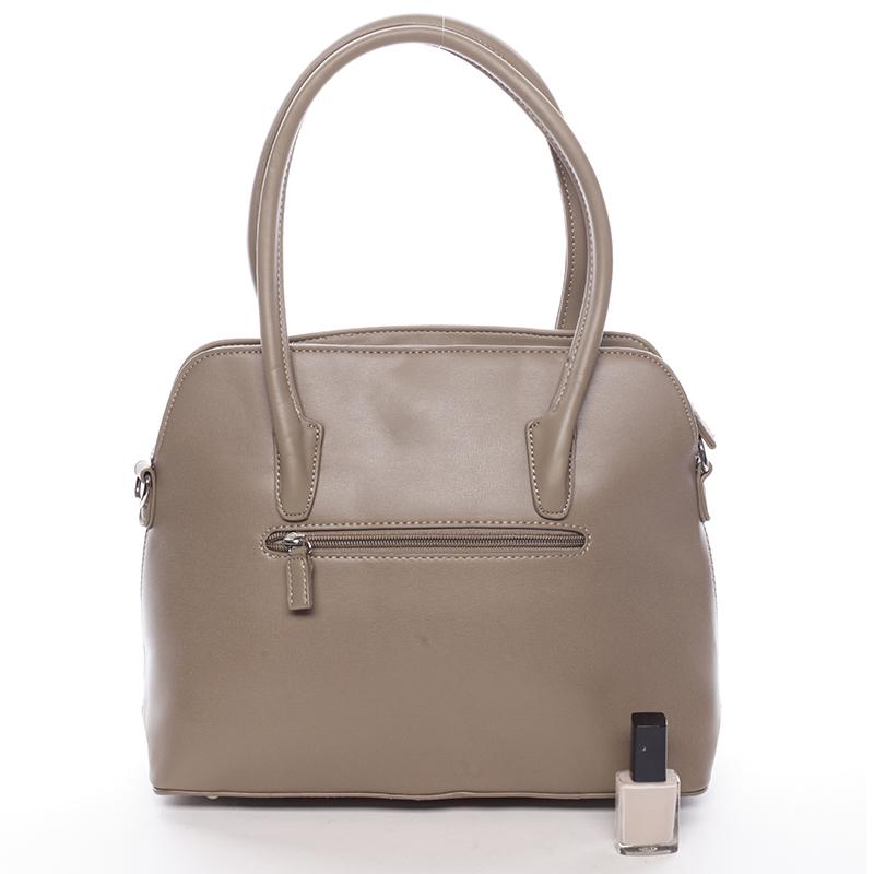 Luxusní kabelka do ruky David Jones Sapphire, khaki