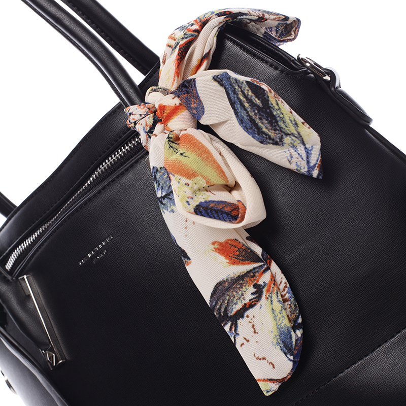 Luxusní kabelka do ruky David Jones Sapphire, black