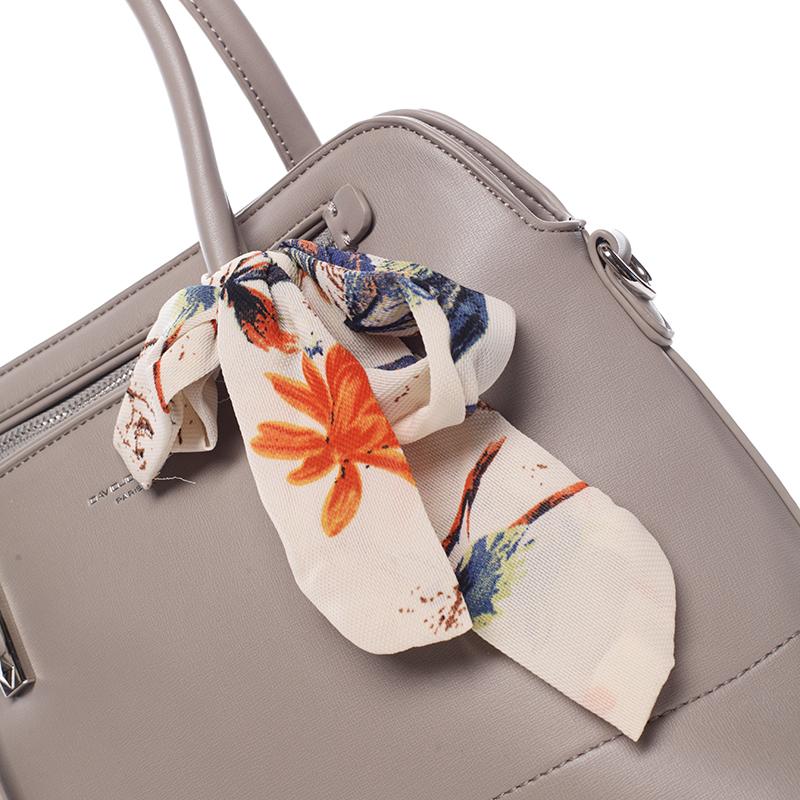 Luxusní kabelka do ruky David Jones Sapphire, grey