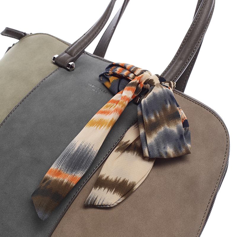 Dámská trendy kabelka David Jones Clea, khaki