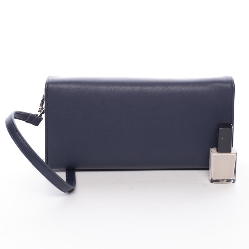 Elegantní dámské crossbody a peněženka David Jones Danny, modrá