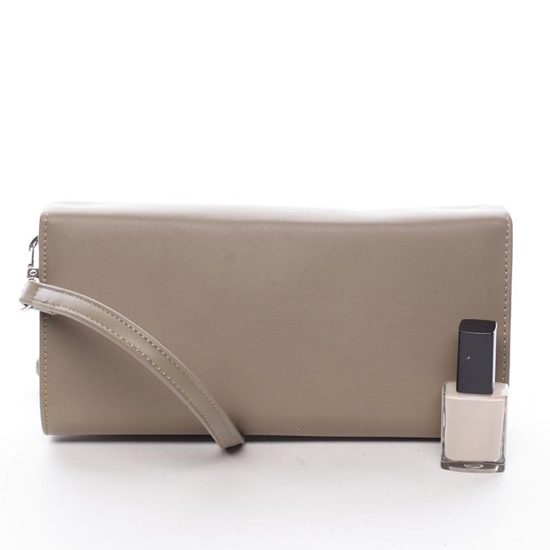 Elegantní dámské crossbody a peněženka David Jones Danny, khaki