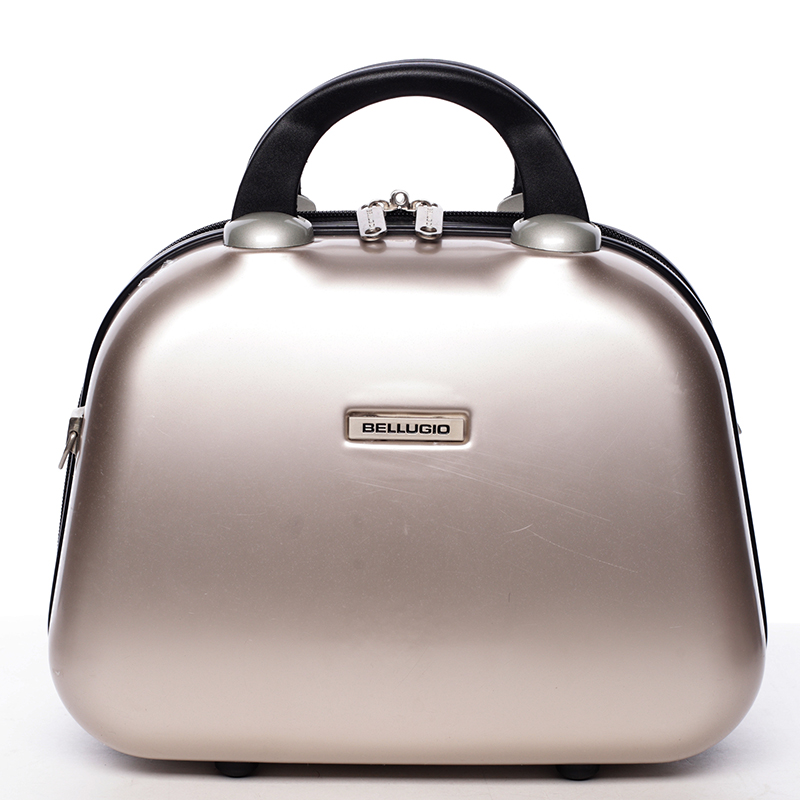Kosmetický kufřík Calíope, zlatý