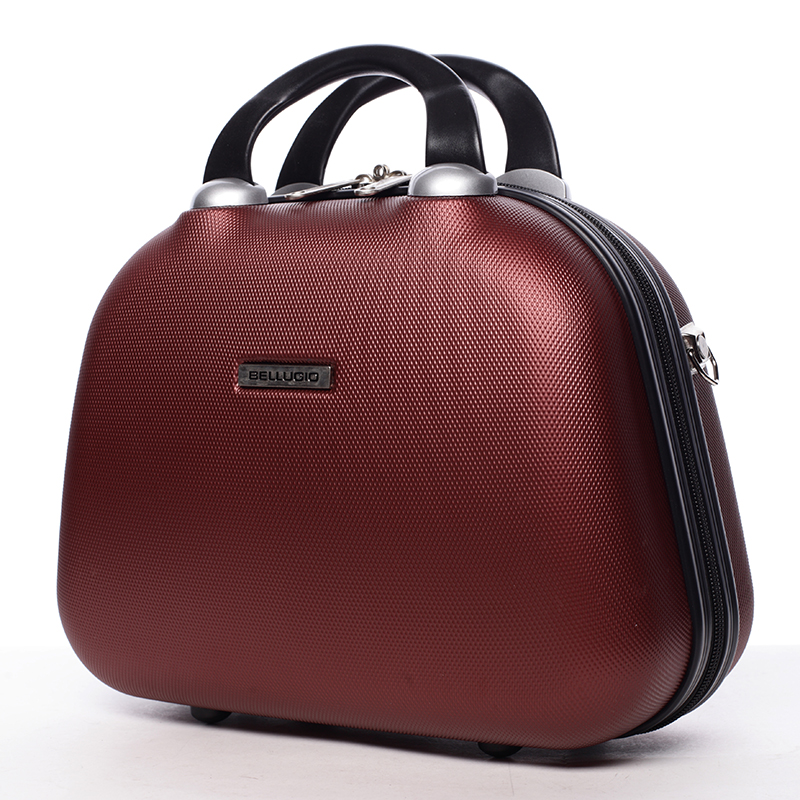 Kosmetický kufřík Calíope, bordó