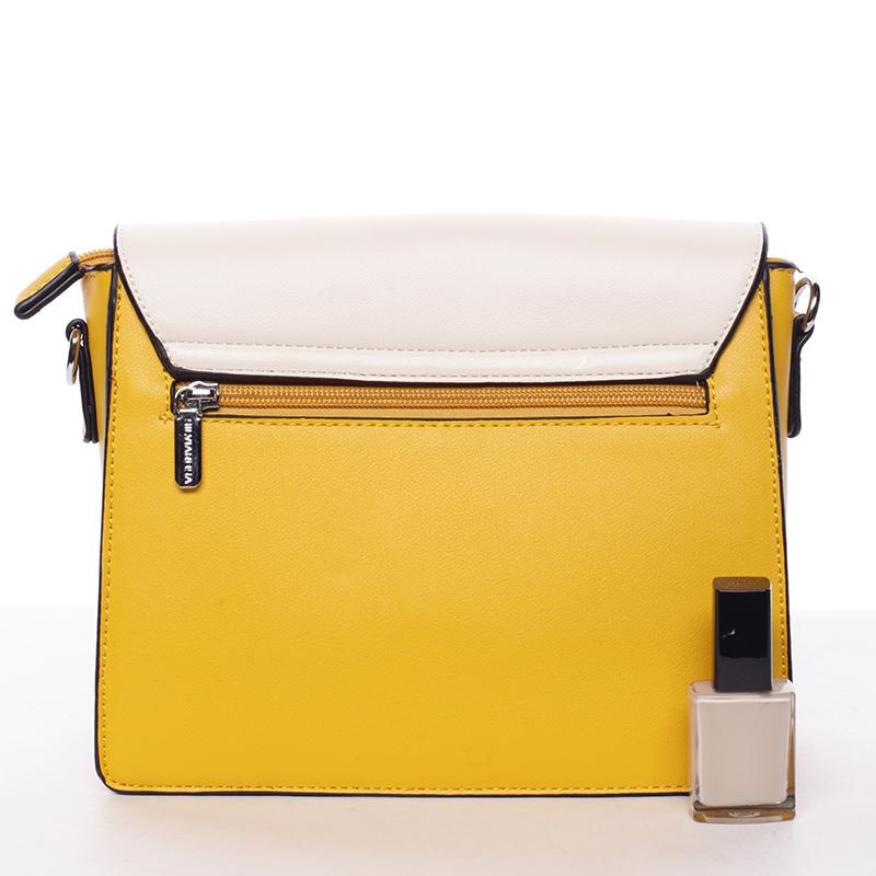 Crossbody kabelka Silvie Rosa Brenda, žlutá