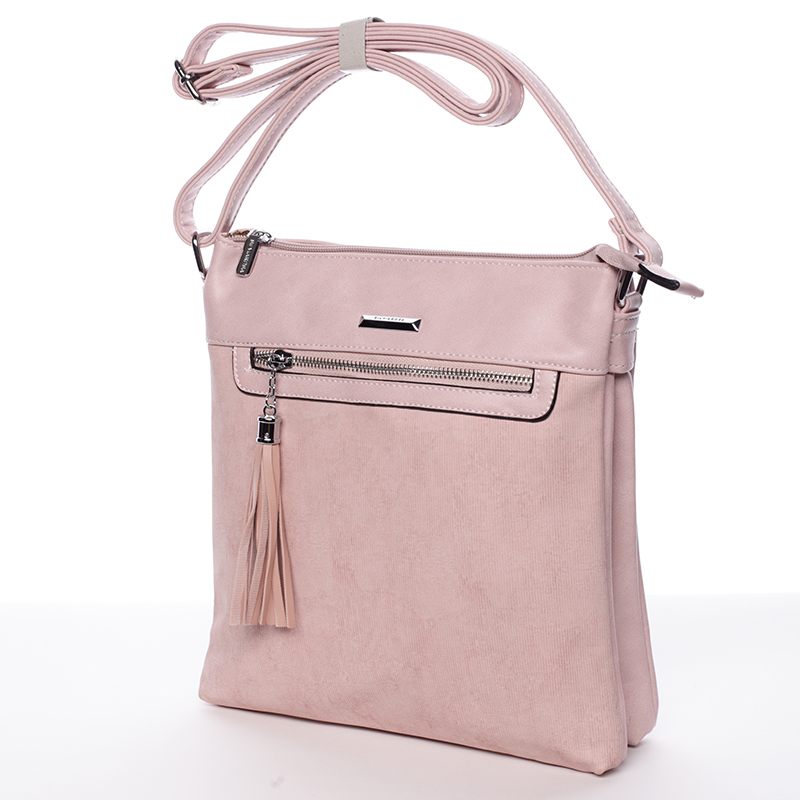 Trendová crosssbody kabelka Blanca, růžová