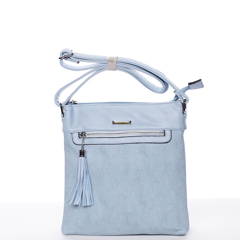 Trendová crosssbody kabelka Blanca, modré