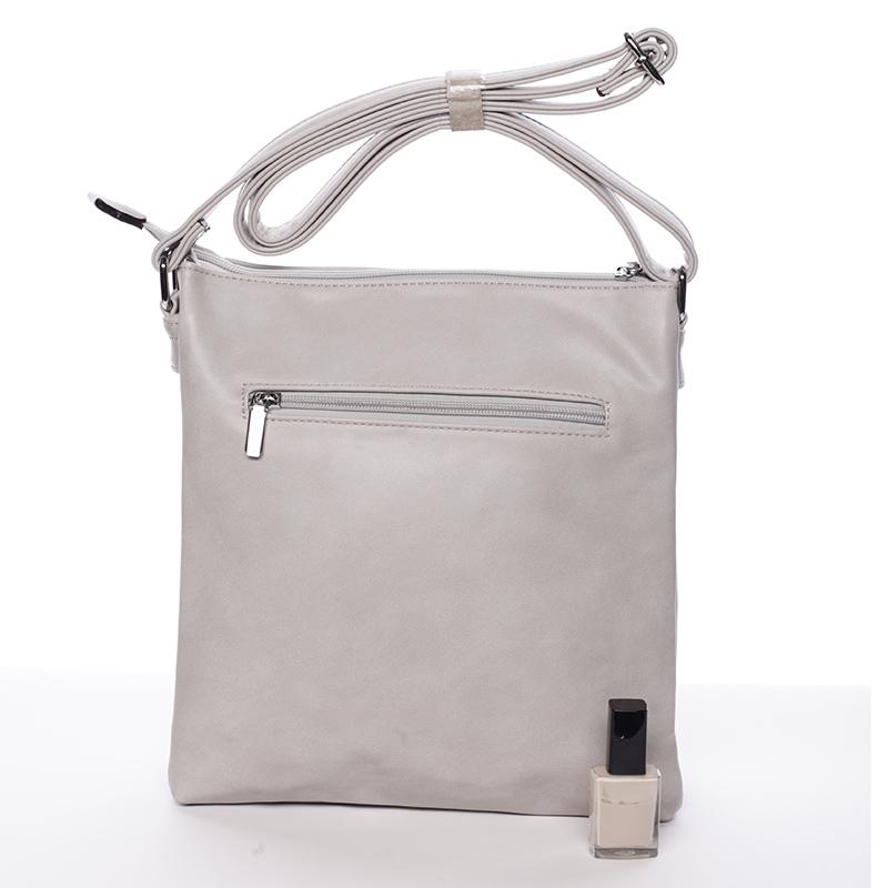 Trendová crosssbody kabelka Blanca, šedé