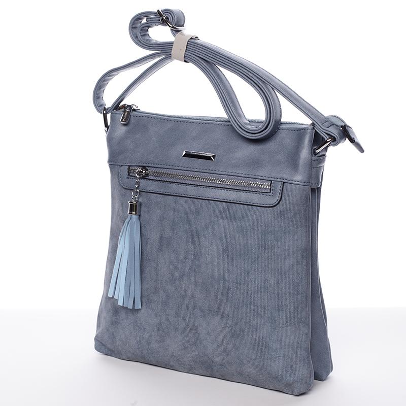 Trendová crosssbody kabelka Blanca, tmavě modrá
