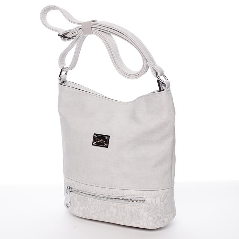 Moderní crossbody kabelka Iris, šedá