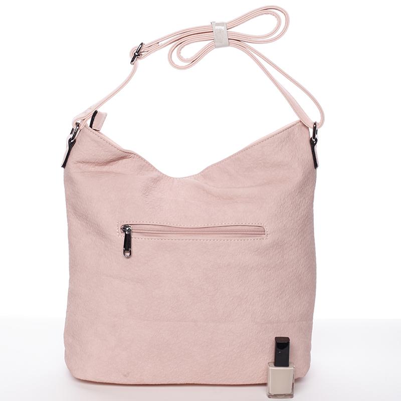 Trendy crossbody kabelka Lorena, růžová
