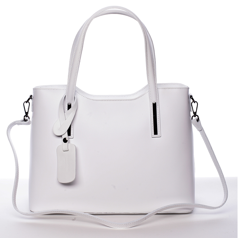 b601af06a01 Elegantní kožená kabelka do ruky Maricela
