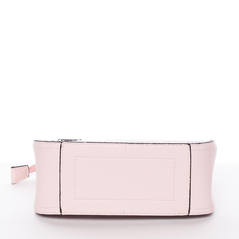 Moderní crossbody kabelka Frida, růžová