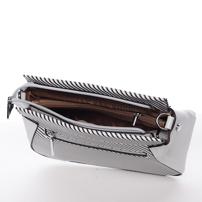 Moderní crossbody kabelka Frida, šedá