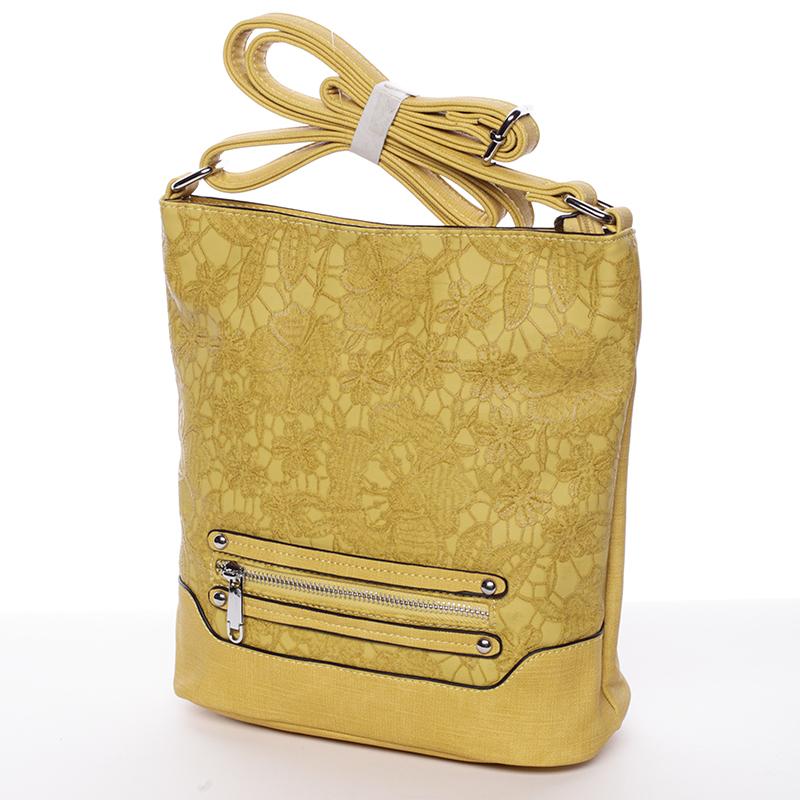 Crossbody kabelka Antonella, žlutá