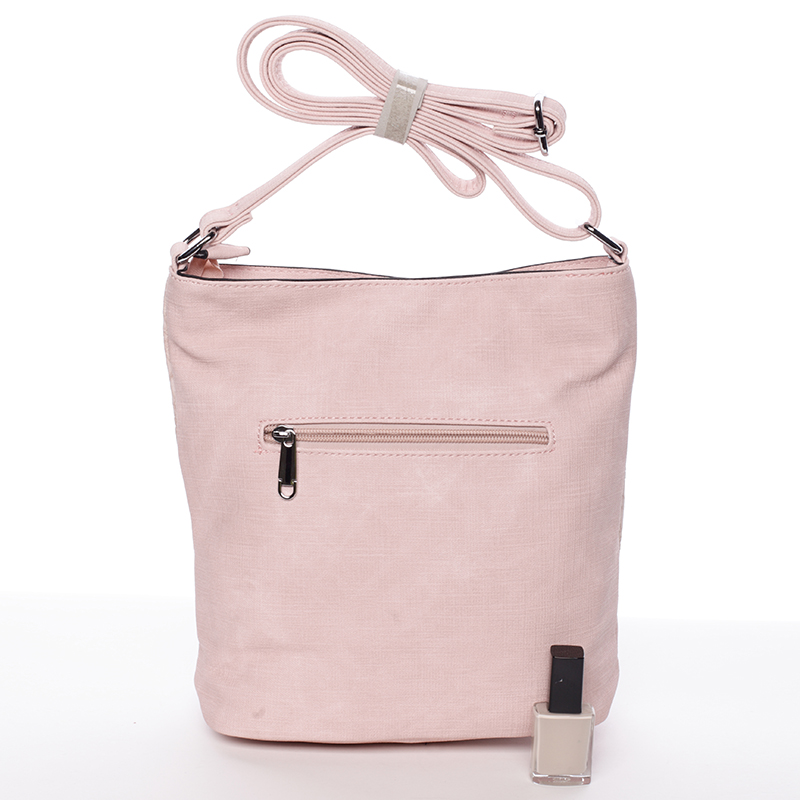 Crossbody kabelka Antonella, růžová