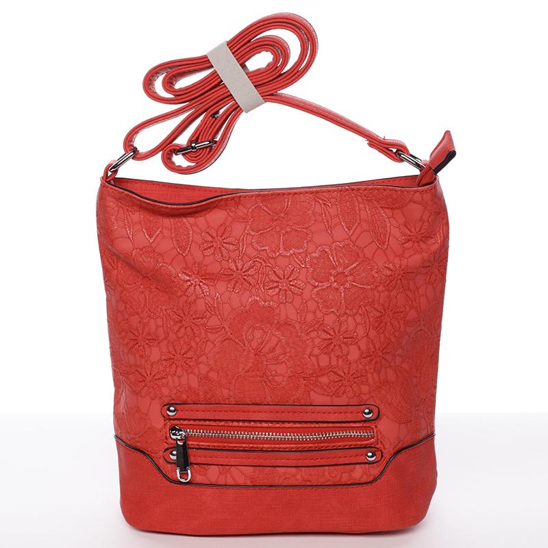 Crossbody kabelka Antonella, červená