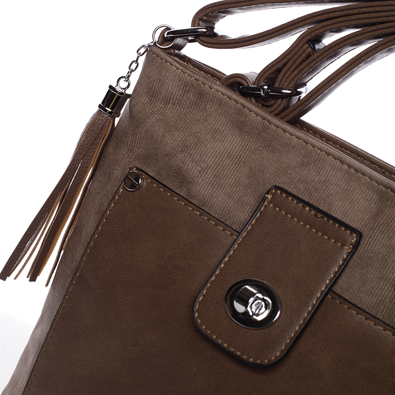 Stylová crossbody kabelka Marcia, khaki