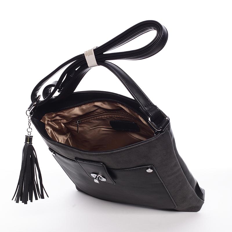 Stylová crossbody kabelka Marcia, černá