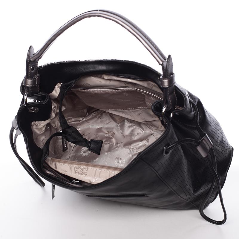 Trendy kabelka přes rameno Shakira, černá