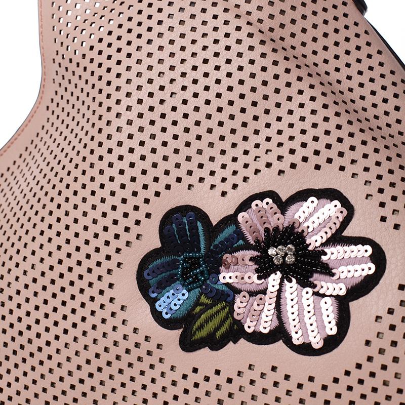 Elegantní módní kabelka MC Mary Elena, růžová