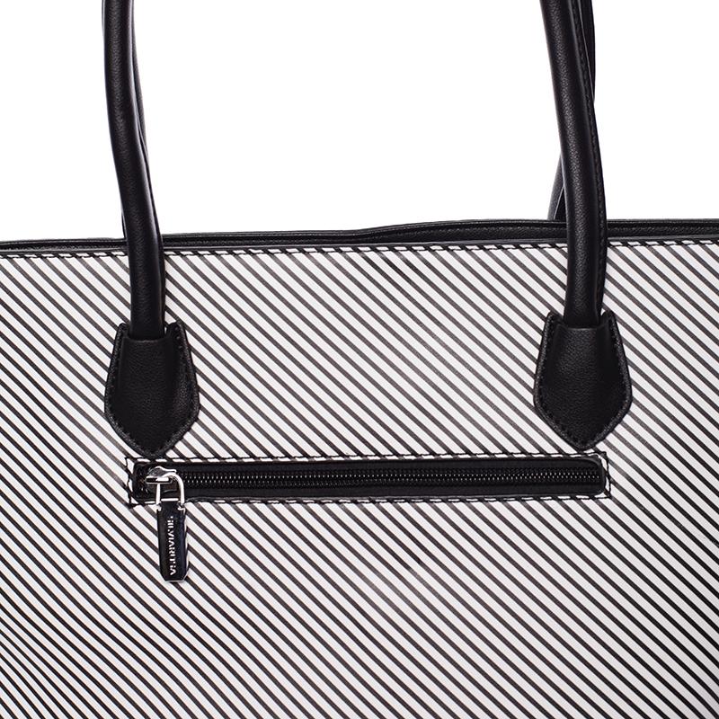 Stylová kabelka Silvia Rosa Jessica, černá