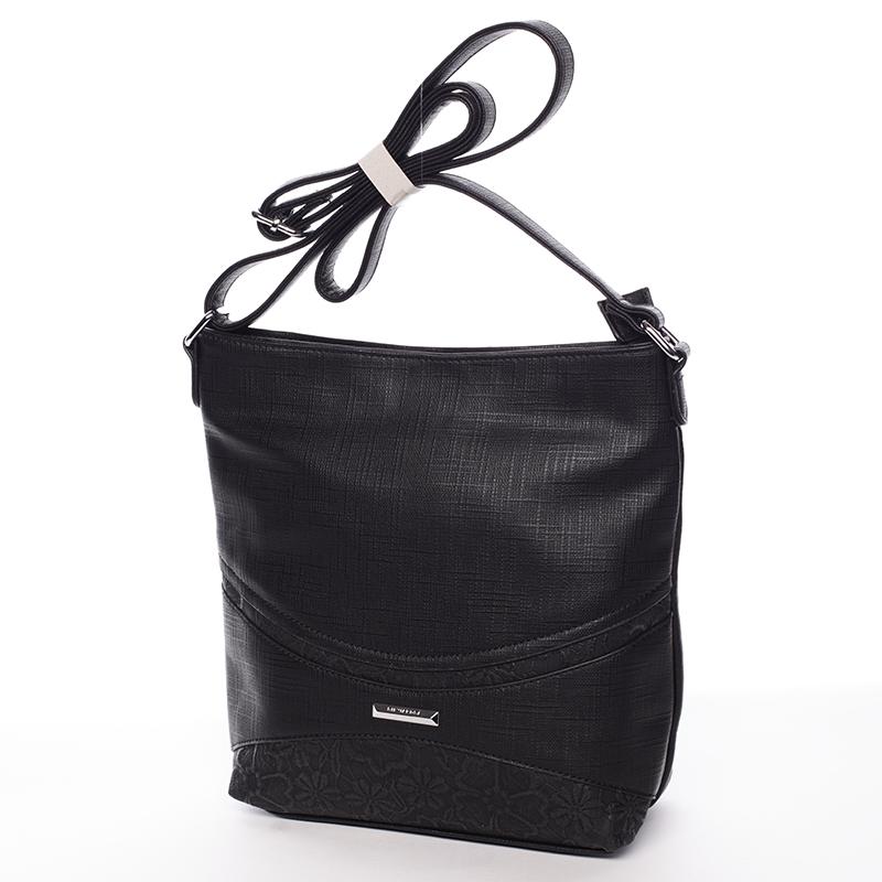 Praktická crossbody kabelka  Debora, černá